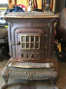 Parlour wood stove