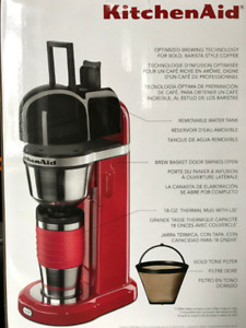 KitchenAid Personal Coffee Maker with 18oz Thermal Mug