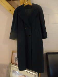 AS NEW: 2 WINTER dress coats, WOOL 3/4 length classic style. dr