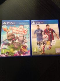 2 new games for ps4