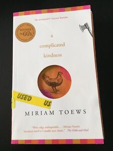 A Complicated Kindness by Miriam Toews Kitchener / Waterloo Kitchener Area image 1