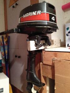 Out board long leg boat motor