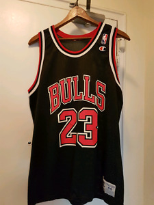 Chicago Bulls Michael Air Jordan Champion jersey