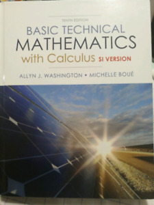 Basic technical mathematics with calculus kijiji in ontario buy basic technical mathematics with calculus si version fandeluxe Image collections