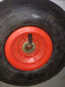 Tyres with tube -10 inches diameter, ideal for dollies, handcart