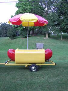 Hot Dog Cart and equipment