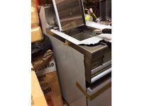 KRONUS single gas fryer brand new cooker kitchen