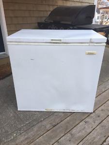 7.5 cubic ft Beaumark chest freezer