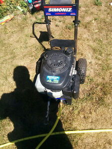 Honda gas pressure washer.