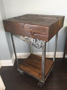 New   Reclaimed kitchen cart