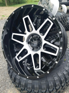 NEW 22X12 -51 5x139.7 visionwheel rims