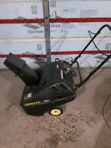 "Brute Briggs &Stratton 20"" Gas snowblower."