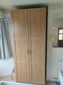 IKEA pax wardrobe 2 doors