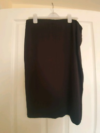 Black size 16 Select pencil skirt - Collection only