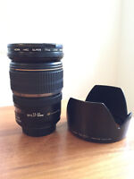 Canon efs 17-55 mm f 2.8 is usm lens lentille