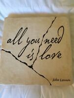 All you need is love - decorative wall stone