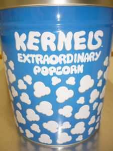Kernels Popcorn Collector Tin
