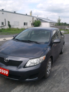 CERTIFIED 2009 COROLLA CE WITH LOW MILEAGE