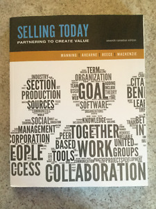 Selling Today - 7th Edition
