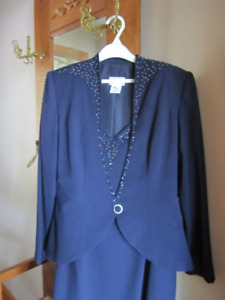Lady's Formal Dress and Jacket