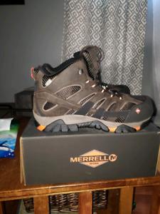 Brand new Merrell steel toe boots size 15