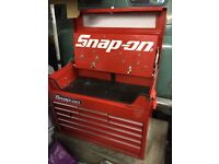 Snap on 9 drawer top box