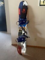 Splitboard and skins for sale