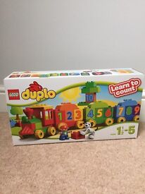 Lego Duplo number train - brand new and unopened