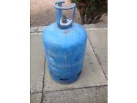 Empty 15kg butane Calor gas bottle.