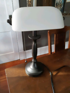 Library/banker desk lamp