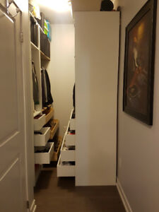 PAX wardrobe system : perfect for condo living