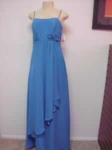 Alfred Angelo Beautiful Blue Evening/Prom Dress