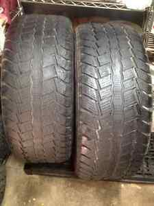 Set of 2 Sailon winter tires  275/75/20 West Island Greater Montréal image 2