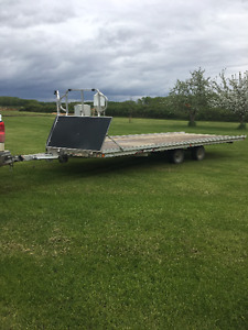 2015 Triton 4 Place Drive On/Off trailer w/ Salt Shield