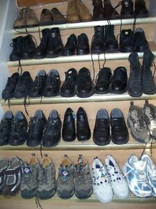 size5-12, used safety shoes,CSAapprovd,steel toe,only$25-$40 !
