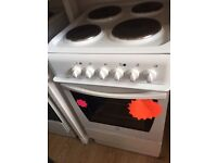 *****White Indesit 50cm single oven electric cooker*****Free Delivery*Fitting*Removal