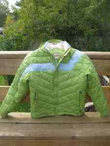 Dragonflies Damsel Girl's winter jacket
