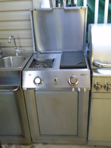 CENTRO CUISINE STAINLESS STEEL PROPANE BREAKFAST CENTER