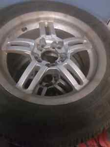"""15"""" 5x114 with winter tires."""