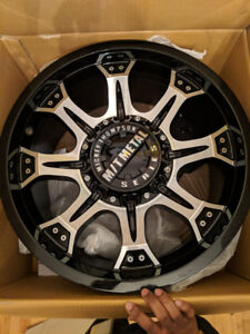 MICKEY THOMPSON® - MM-164M Gloss Black with Machined Face Rims