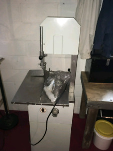 Meat saw/ grinder for Hamburg and sausages