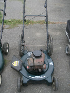2 Gas Lawnmowers in need of small repair -- total $60!