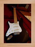 Vintage HONDO Electric Guitar Rare Left Hand Configuration