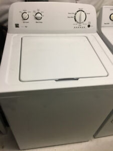 HE Top Loader Washer and Front Load Dryer