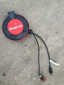 Snap-on extension cord