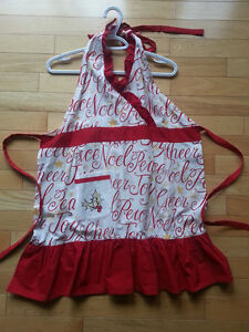 Holiday Apron - Brand New