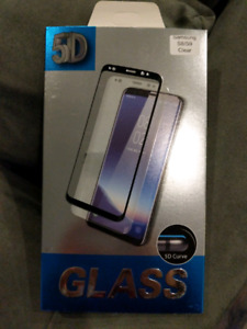 Samsung Galaxy S8 S9 Tempered Glass Screen Protector 5D Curved