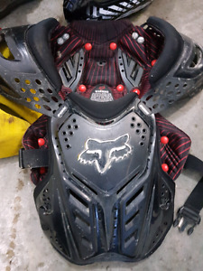 Full set of dirtbike gear