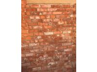 Re-claimed clay bricks, ideal for garden projects