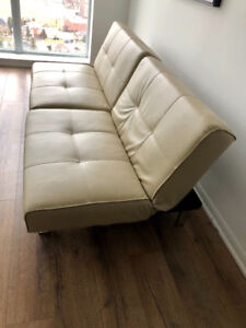 Convertable Futon and Coffee table for  sale